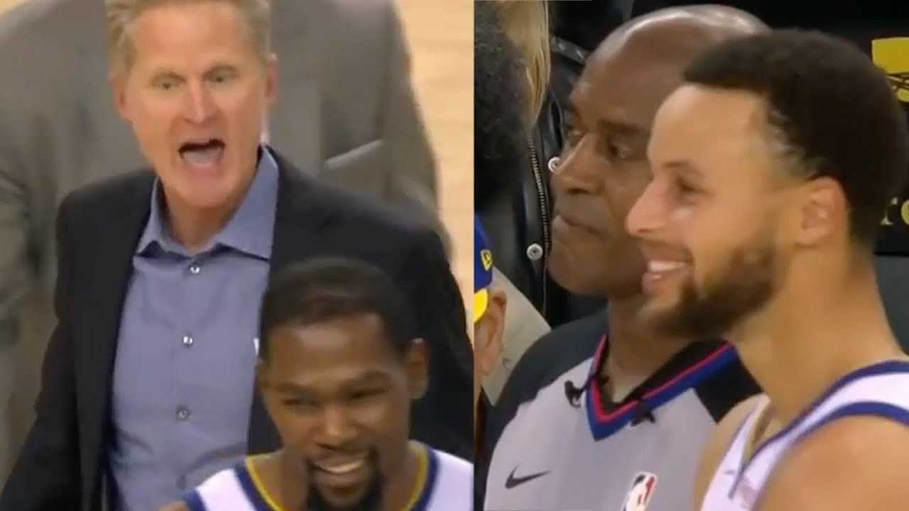 Steve Kerr Loses His MIND Over POINTLESS Steph Curry Technical & Gets Ejected!