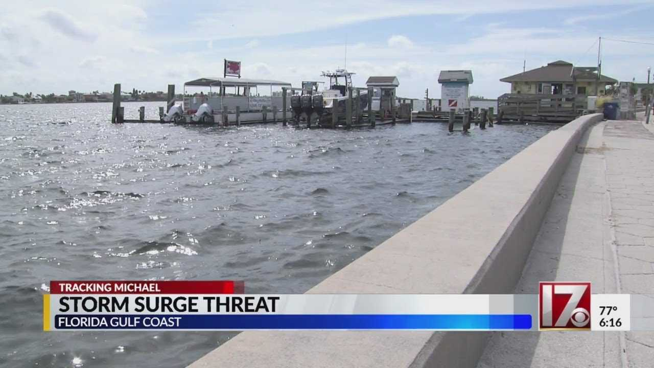 Storm surge threat for Florida as Michael approaches