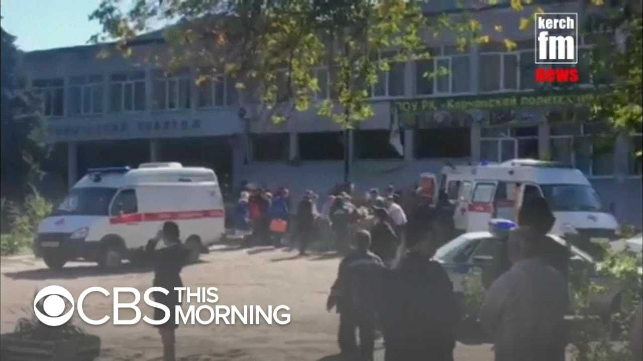 Suspected explosion in Crimea college kills at least 13