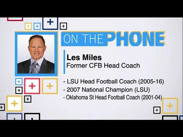 Tiki and Tierney: Les Miles talks transfer rule