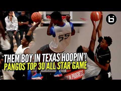 Top 9th Graders SHOW OUT at Pangos Top 30 All Star Game! Them Boys In Texas Were Hoopin!
