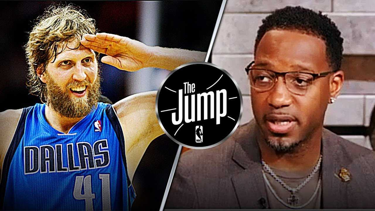 Tracy McGrady Gives Dirk Nowitzki Green Light To Play One More Year | The Jump
