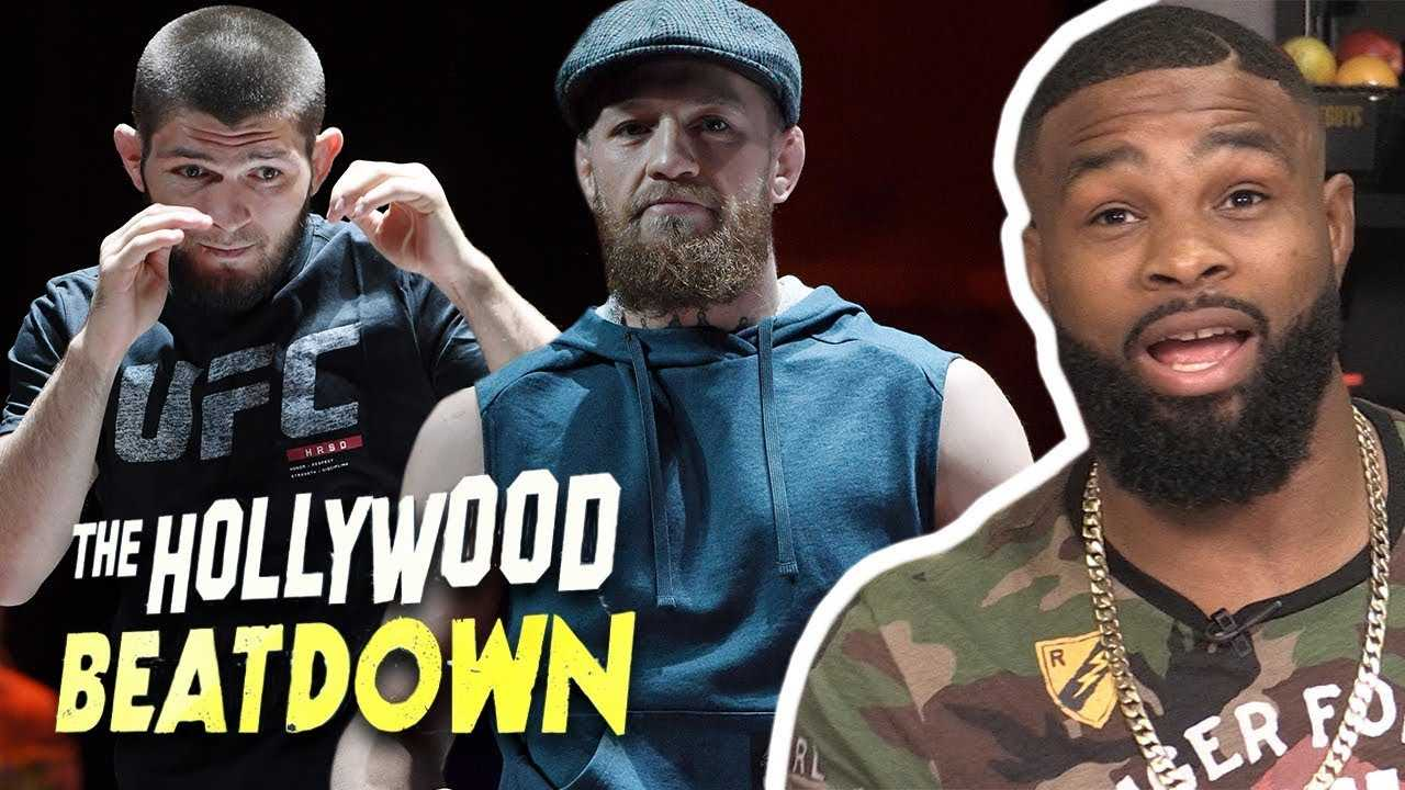 Tyron Woodley Reacts to McGregor's $50 Million Paycheck Vs Khabib | The Hollywood Beatdown