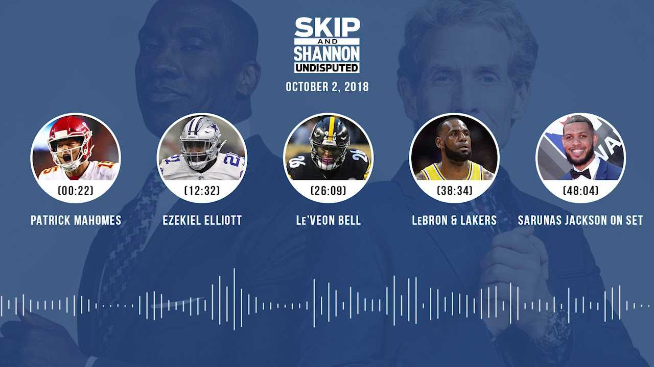 UNDISPUTED Audio Podcast (10.02.18) with Skip Bayless, Shannon Sharpe & Jenny Taft | UNDISPUTED