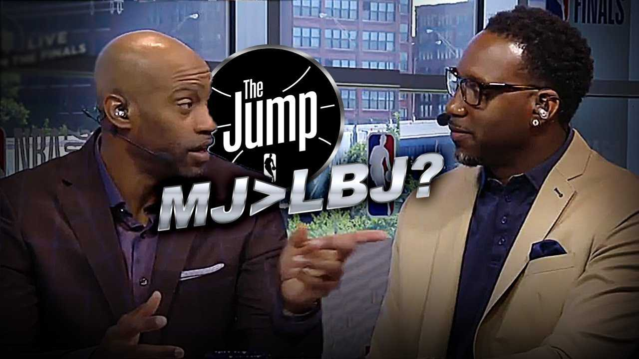 Vince Carter Picks His All-Time Great Player  | The Jump