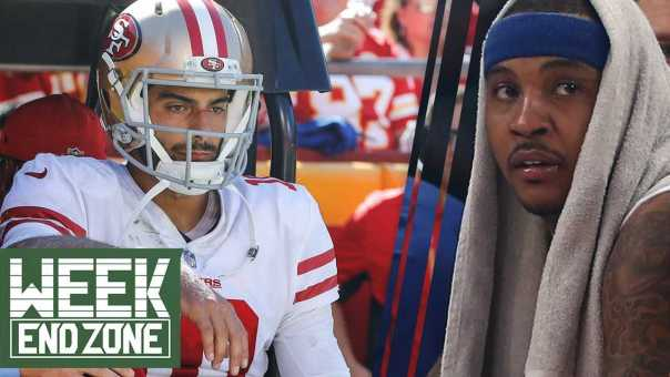 Who Should Replace Jimmy Garoppolo? Will Carmelo Anthony Actually Come Off The Bench? | WEZ