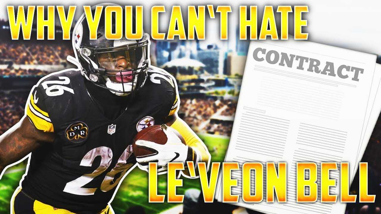 Why You Can't HATE Le'Veon Bell for Holding Out for Big Money