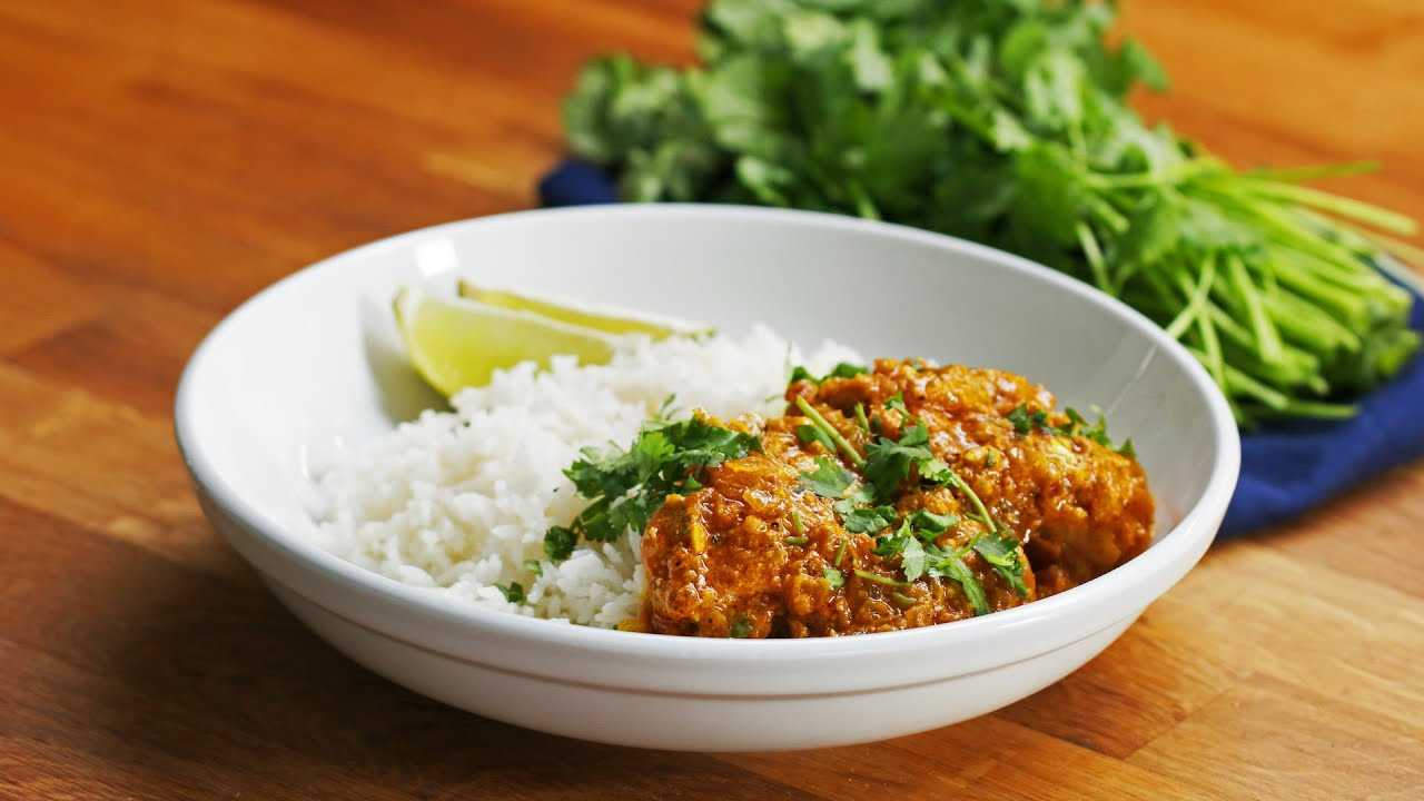 Easy Chicken Curry with Kanchan Koya