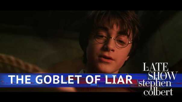 Harry Potter And The Open Book Of Trump