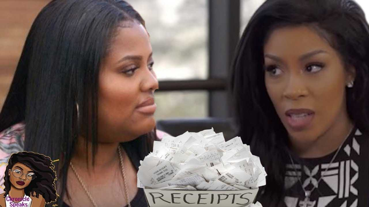 K Michelle Caught with FAKE Receipts On Paris Phillips Allegedly