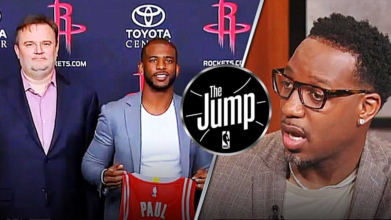 McGrady On Rockets GM Daryl Morey Calling Out Warriors All Season Long | The Jump