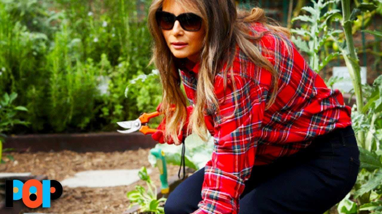 Melania Trump Is A FANTASTIC Gardener