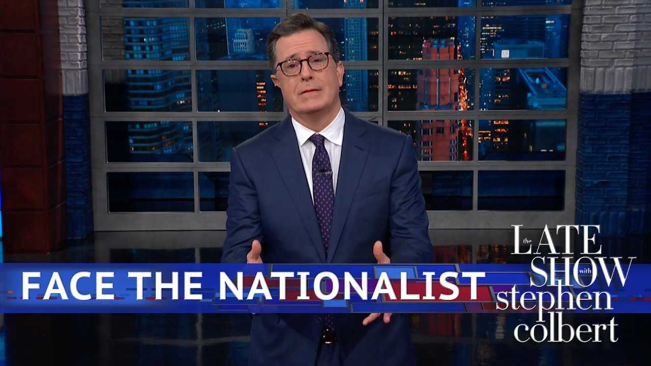 Oh Boy, He Broke Out The 'Nationalist' Word