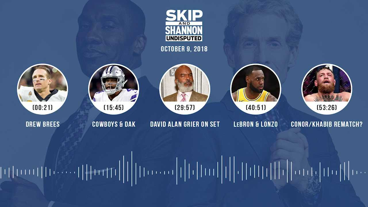 UNDISPUTED Audio Podcast (10.09.18) with Skip Bayless, Shannon Sharpe & Jenny Taft | UNDISPUTED