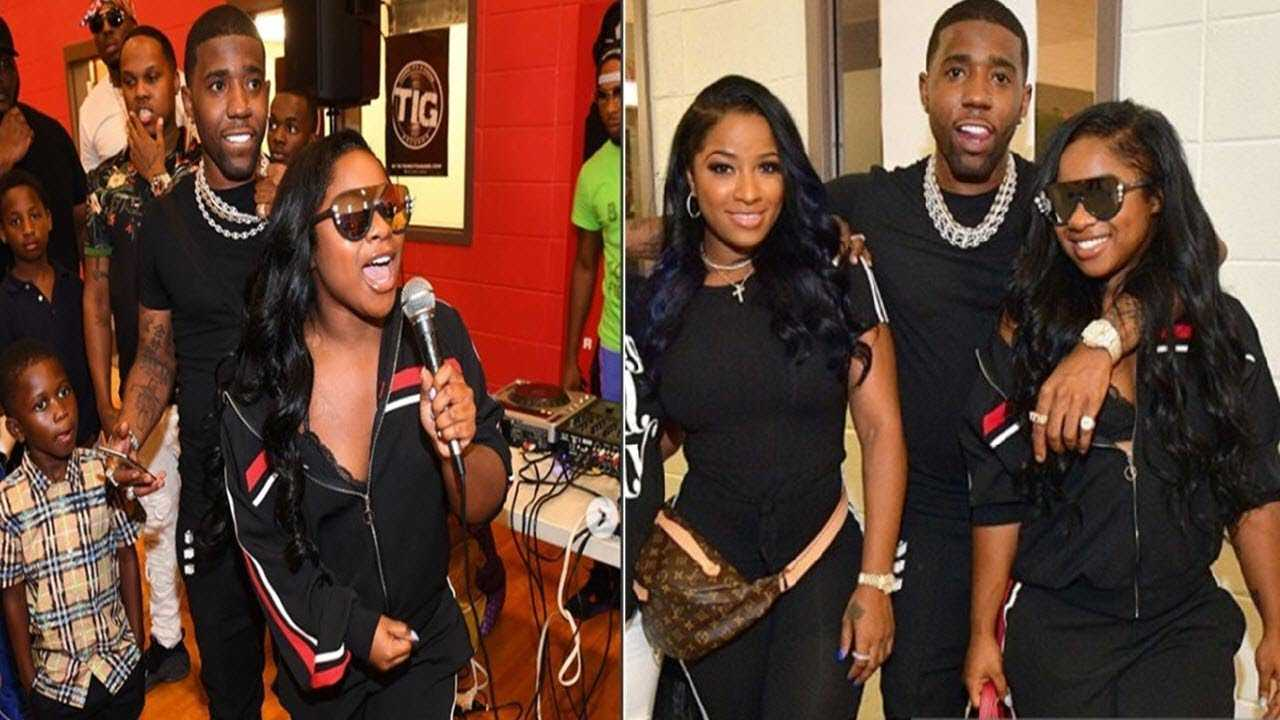 YFN Lucci & Reginae Carter Hosts Back To School Event In Atlanta