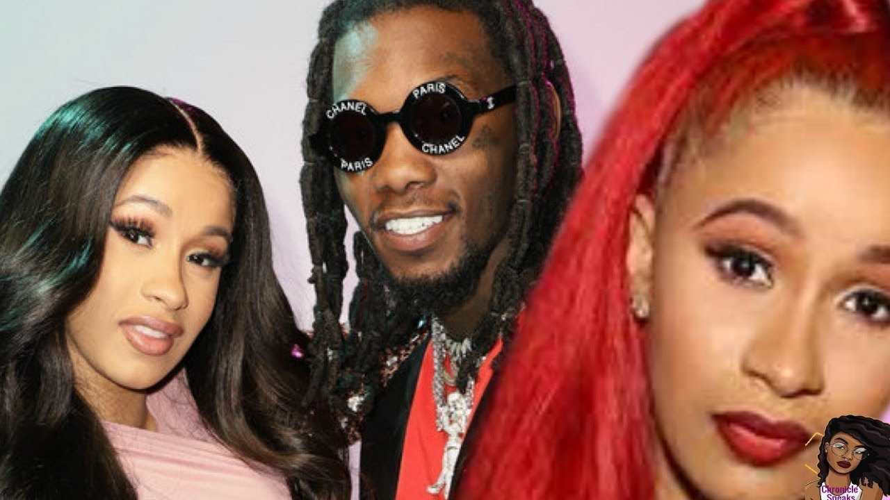 Cardi B ANNOUNCES SPLIT From Offset AFTER 1 Year Of Marriage
