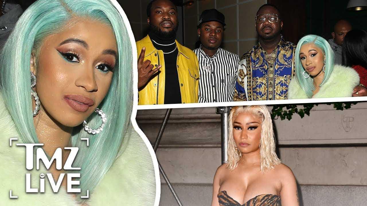 Cardi B Pulls Meek Mill Into Nicki Minaj Beef | TMZ Live