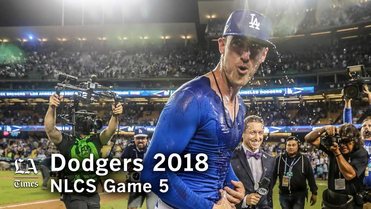 Dodgers NLCS 2018: The Dodgers take extra innings to win NLCS Game 4