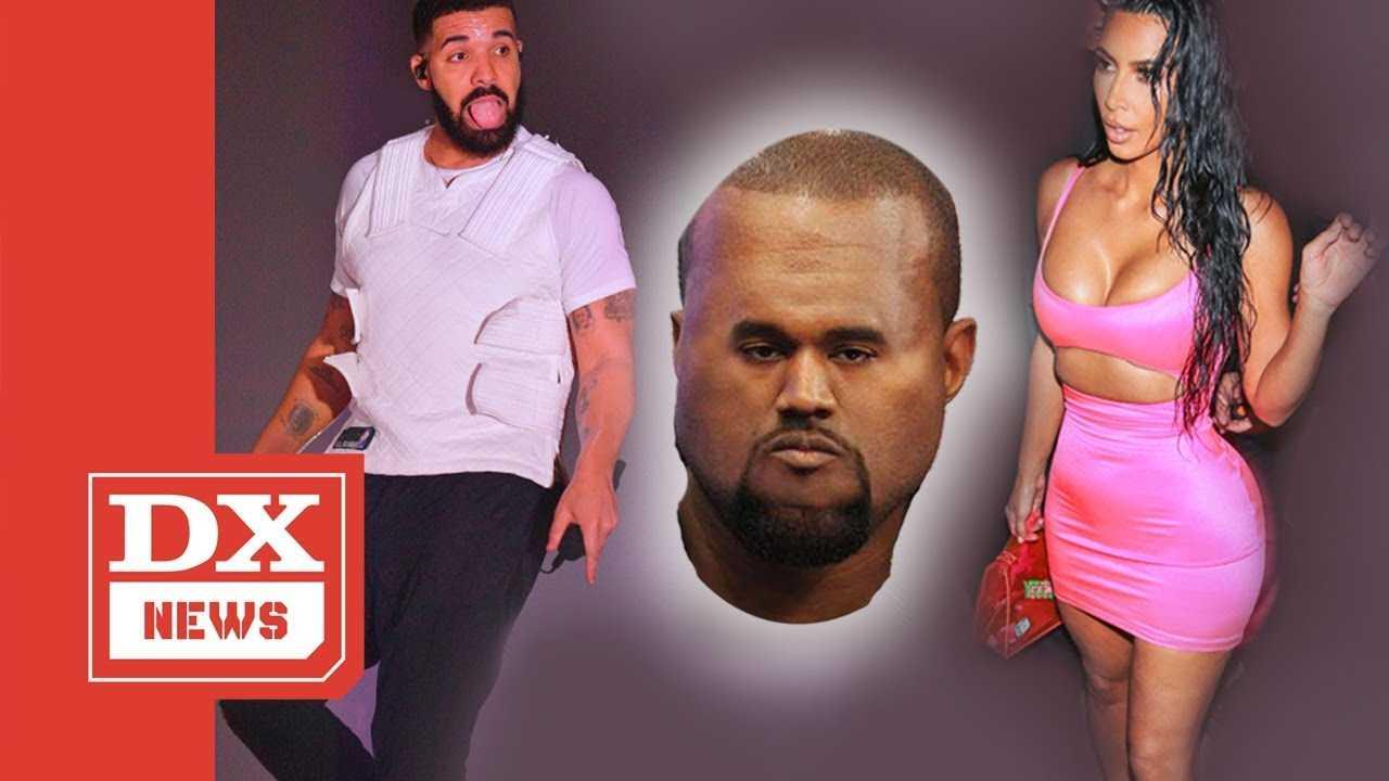 Drake Re-Follows Kim Kardashian On Instagram And Kanye West Flips Out