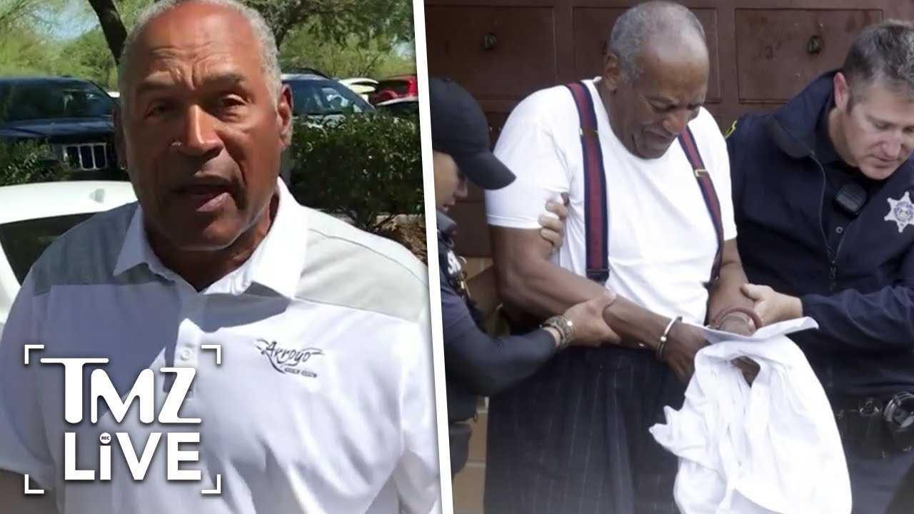 O.J. Simpson Fears For Cosby In Prison   TMZ Live