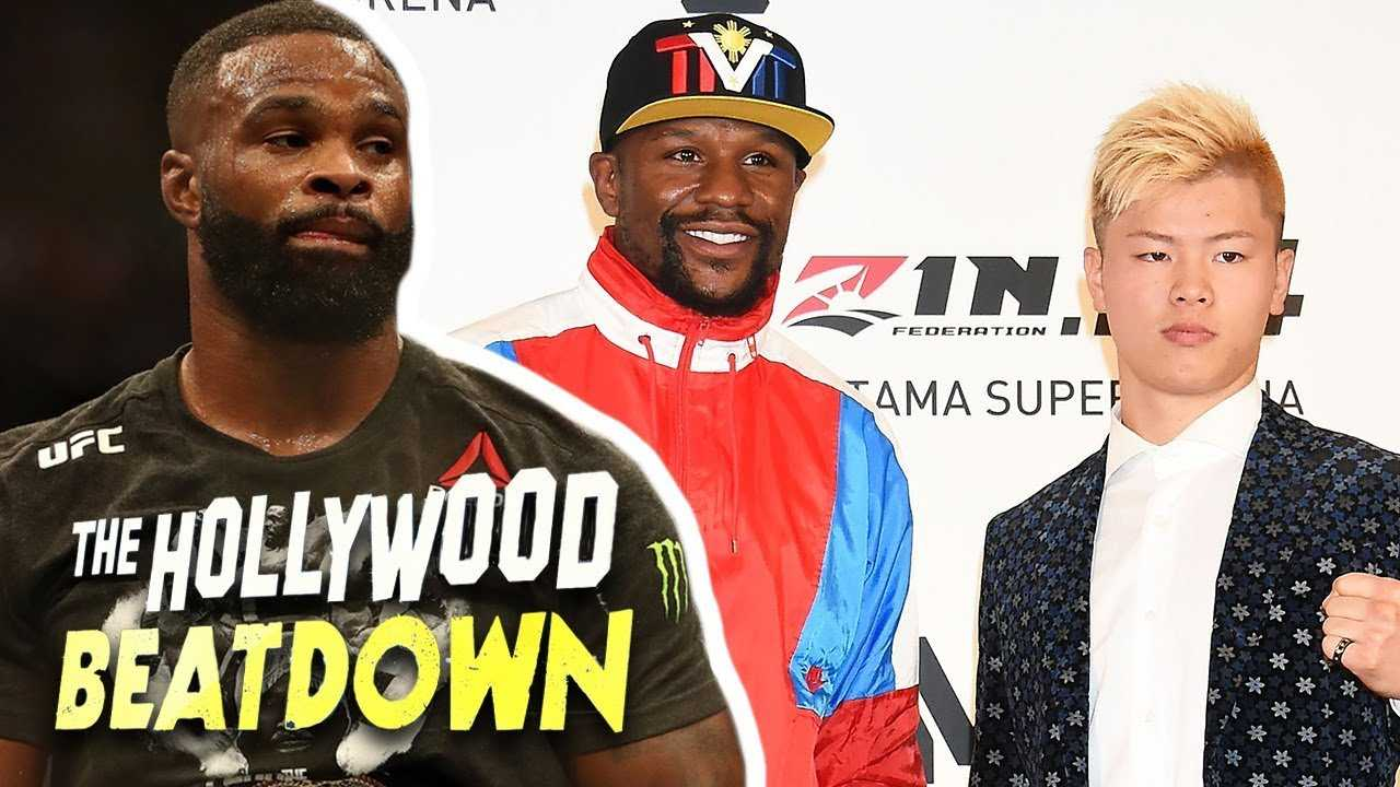 Tyron Woodley Believes Mayweather Was Misled By MMA Fight | The Hollywood Beatdown