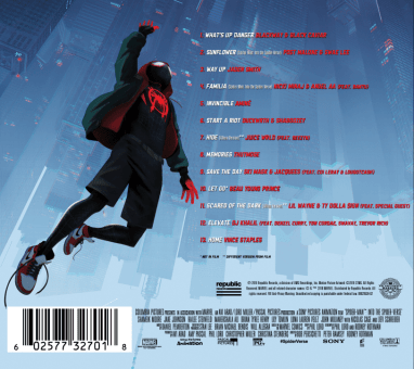 REPUBLIC RECORDS & SONY PICTURES ENTERTAINMENT RELEASE SPIDER-MAN™: INTO THE SPIDER-VERSE OFFICIAL SOUNDTRACK TRACKLISTING
