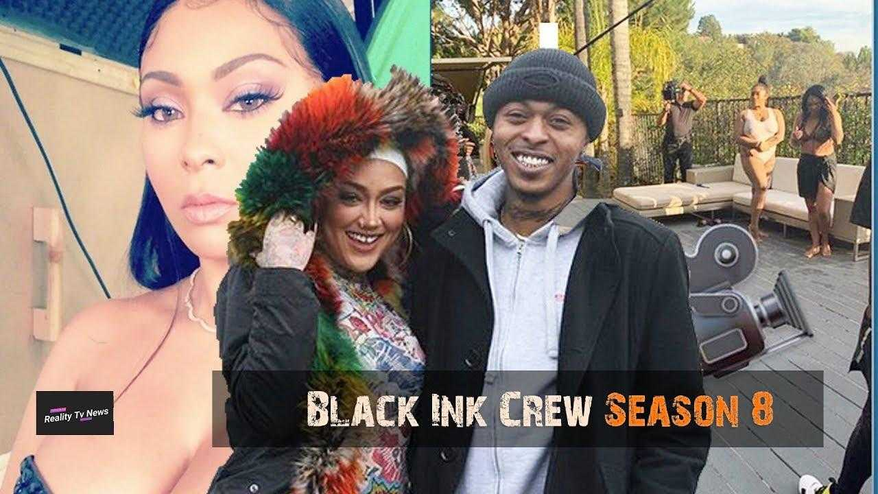 'BLACK INK CREW' Cast Filming Season 8 + Alex & Donna Want A Spin Off Show