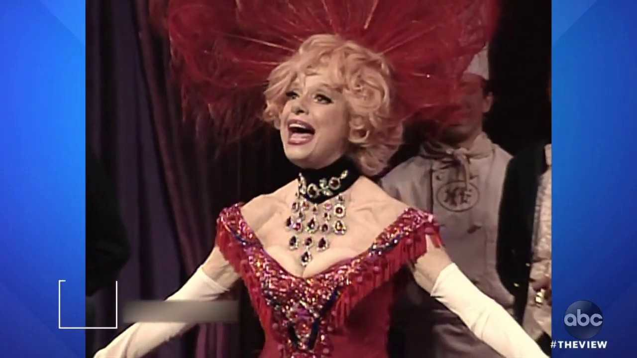 R.I.P., Carol Channing   The View