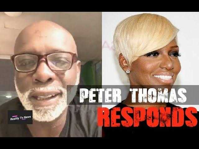 #RHOA Star Peter Thomas Responds to Backlash For Not Liking Black Women With Blonde Hair