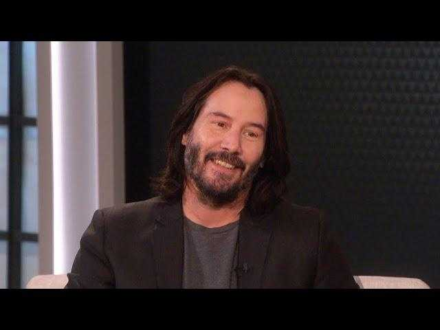 The Talk - Keanu Reeves Reunites with Dolly Parton; Says He Wore Her Playboy Cover 'bunny ears for