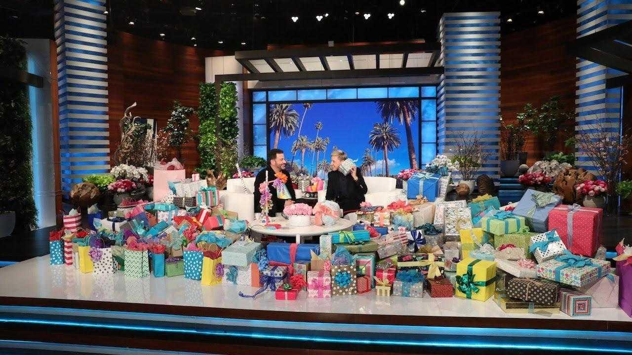Jimmy Kimmel Recruits 'Ryan Reynolds' and 'Rihanna' to Send Ellen Birthday Messages