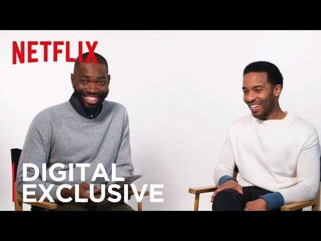 Between Two Faves: Tarell Alvin McCraney and André Holland | Strong Black Lead | Netflix