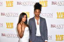 "WEST HOLLYWOOD, CALIFORNIA - APRIL 02: (L-R) Toni Braxton and Diezel Ky Braxton-Lewis are seen as We TV celebrates the premiere of ""Braxton Family Values"" at Doheny Room on April 02, 2019 in West Hollywood, California. (Photo by Earl Gibson III/Getty Images for WE tv )"