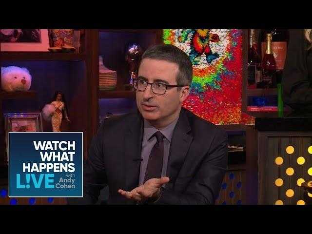 Does John Oliver Sing With Beyonce On 'Lion King'? | WWHL