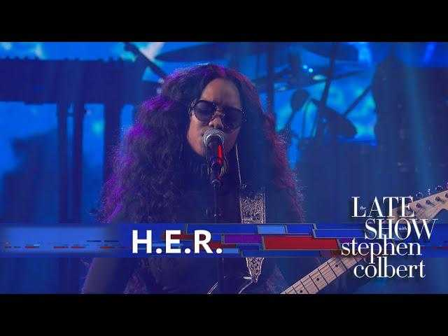 H.E.R. Performs 'Hard Place'