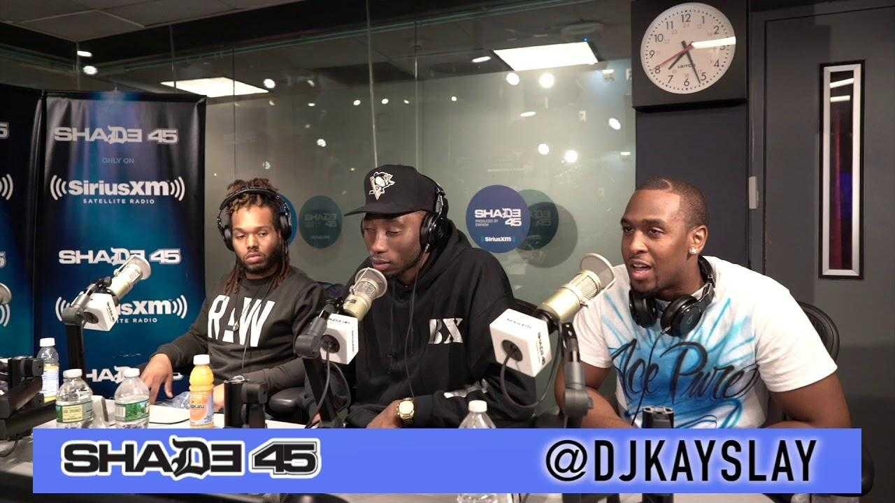 Swank Davis interview with Dj Kayslay at Shade45 SiriusXM