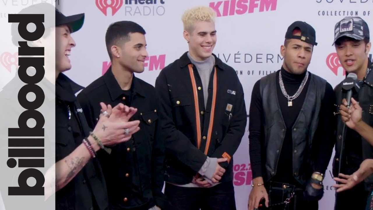 CNCO on Hoping to Meet Jonas Brothers, Using Spanglish to Reach Larger Audiences | Wango Tango 2019