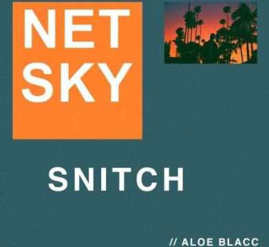 "NETSKY DROPS NEW SINGLE ""SNITCH"" FEATURING ALOE BLACC [AUDIO]"