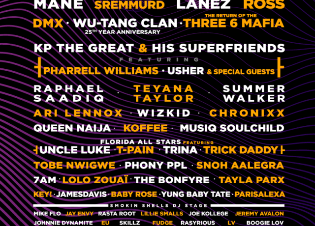 ONE Musicfest 10 Year Anniversary is taking over Atlanta! Feat. Wu-Tang Clan, Summer Walker, Rick Ross, Rae Sremmurd, Raphael Saadiq & more [Event]