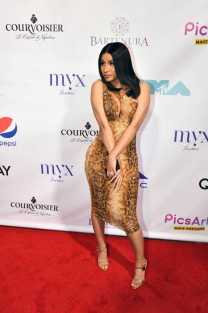Cardi B on Red Carpet at Missy Elliott's VMA Afterparty with Courvoisier-Optimized