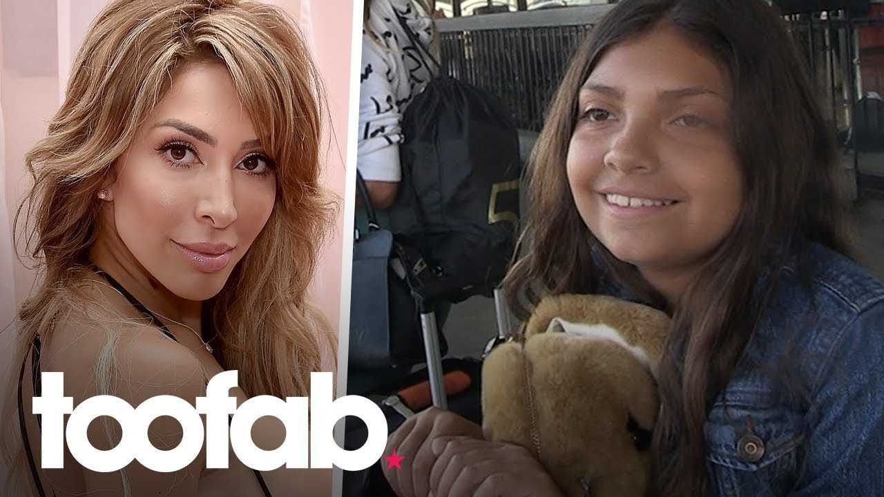 Farrah Abraham's Daughter Sophia Defends Her Against the Haters   toofab
