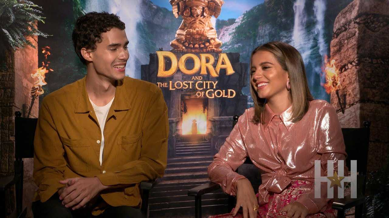 Cast Of 'Dora And The Lost City Of Gold' Can't Stop The Feeling