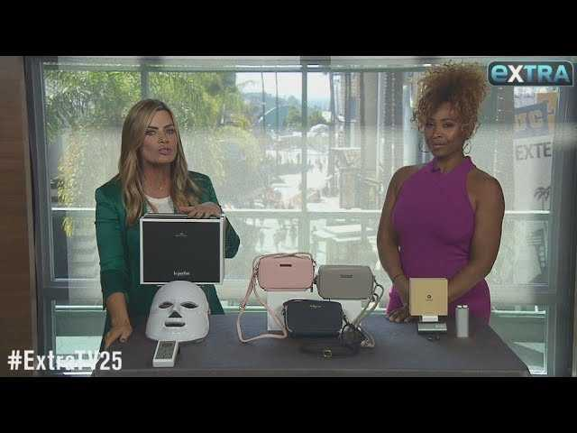 'Extra's' Pop-Up Shop: Beauty Masks, Charging Crossbody Bags, and Bluetooth Earbuds