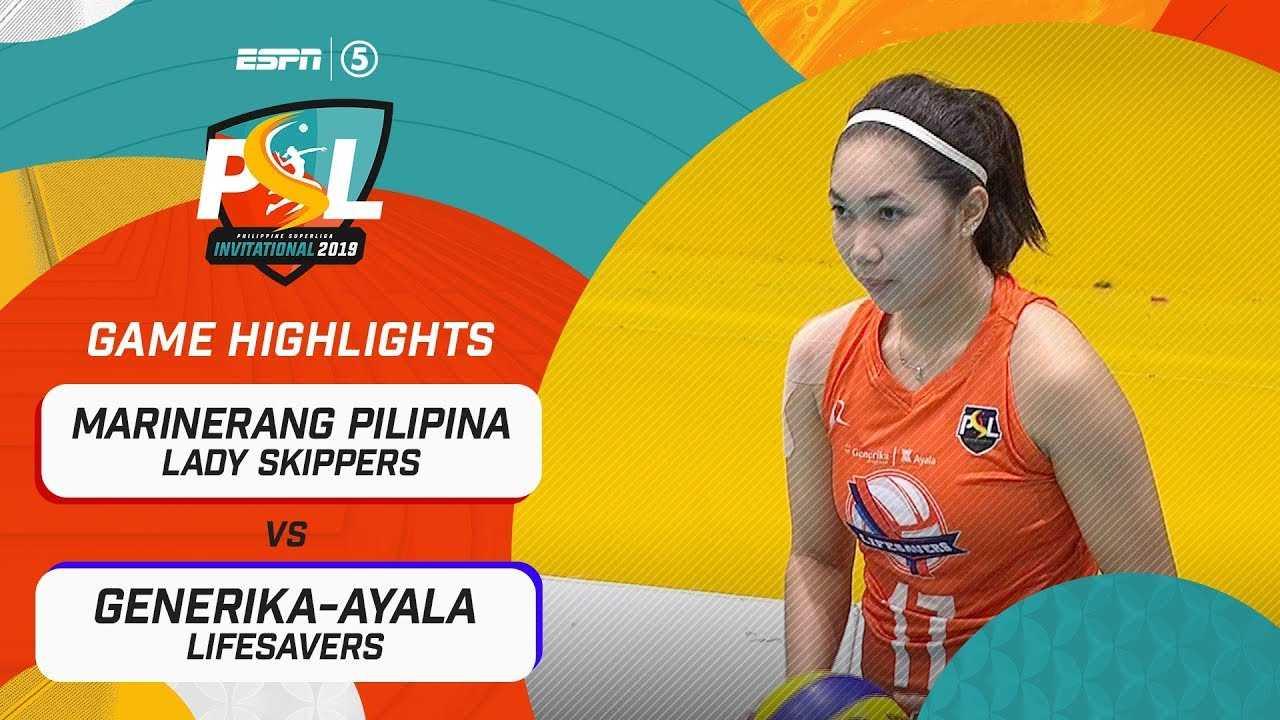 Highlights: Marinerang Pilipina vs. Generika-Ayala | PSL Invitational Conference 2019