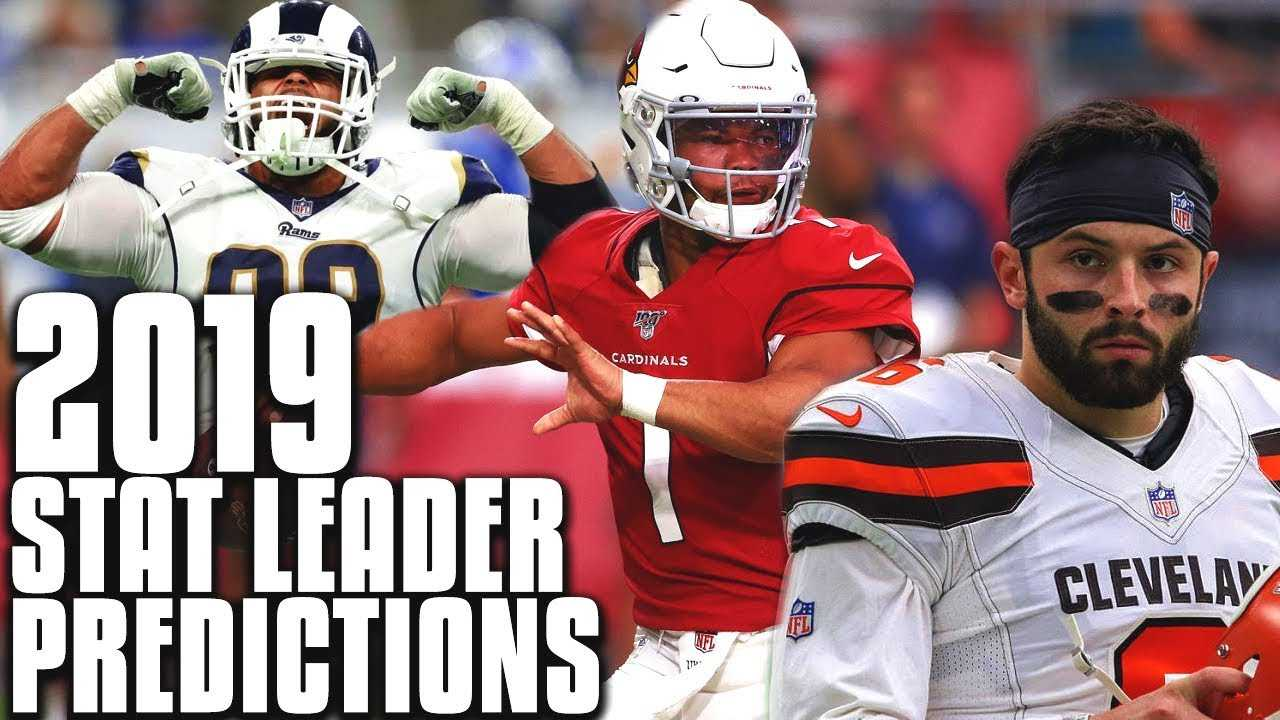 Projecting the NFL Stat Leaders for Every Major Category in 2019
