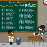 "Young Dolph & Key Glock Announce Nationwide ""No Rules Tour,"" Kicking Off in February"