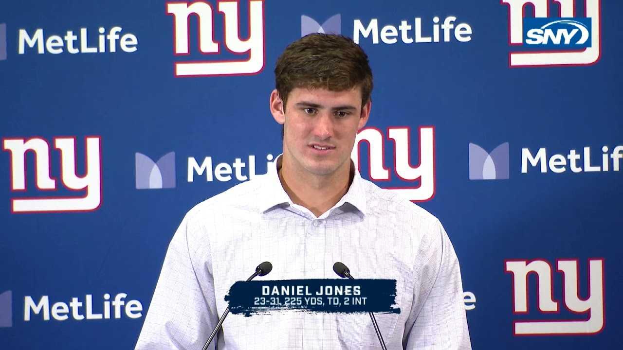 Daniel Jones leads New York Giants to win over Washington