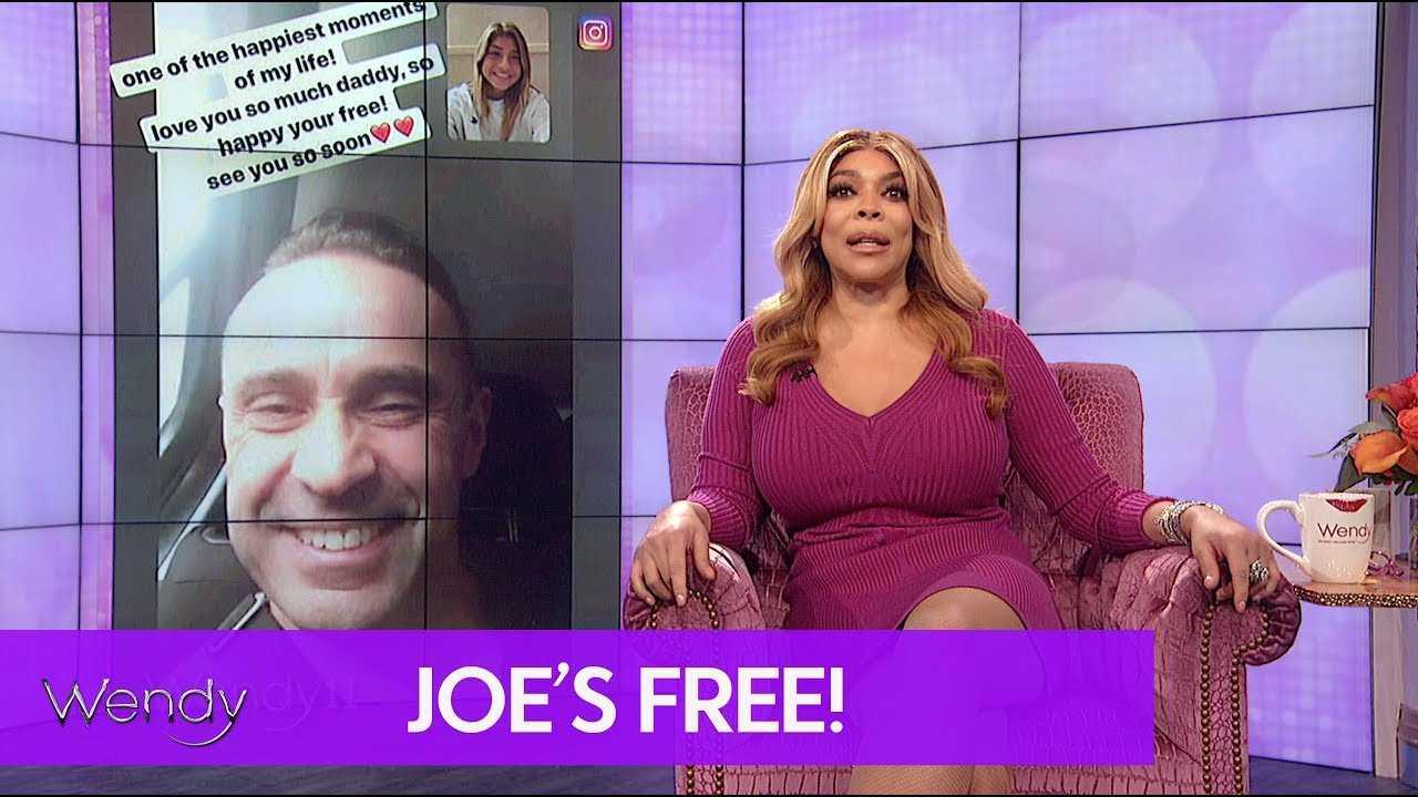 Joe Giudice Is A Free Man!