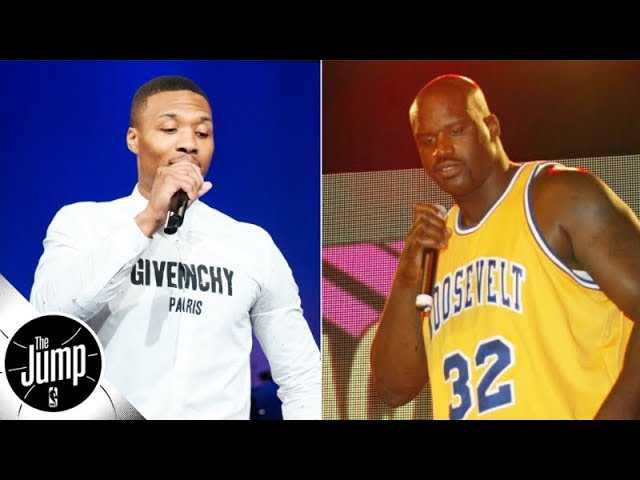 Reacting to the Dame Lillard-Shaquille O'Neal diss track battle | The Jump