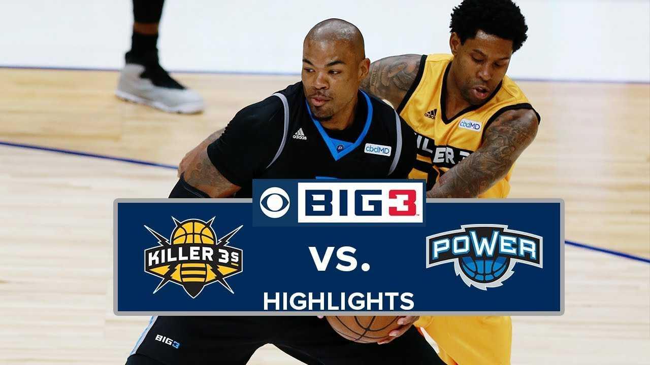 BIG3 Playoffs | Killer 3s vs. Power | Highlights